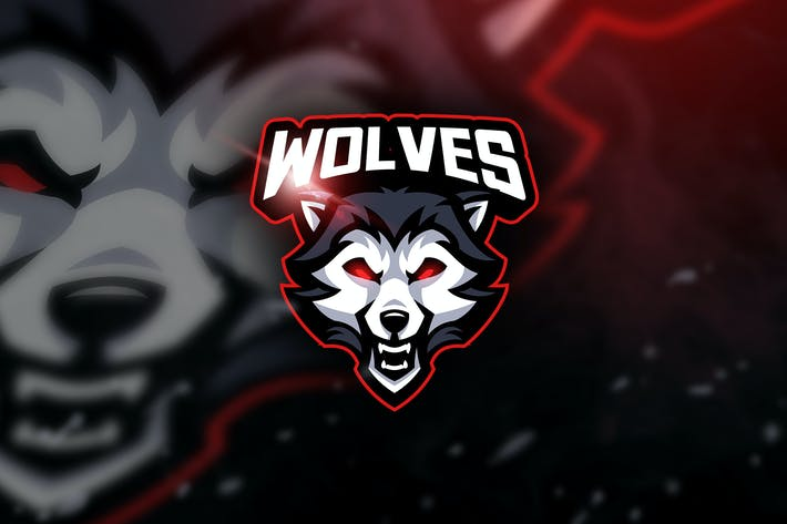 Thumbnail for Wolves -  Mascot & Esport Logo
