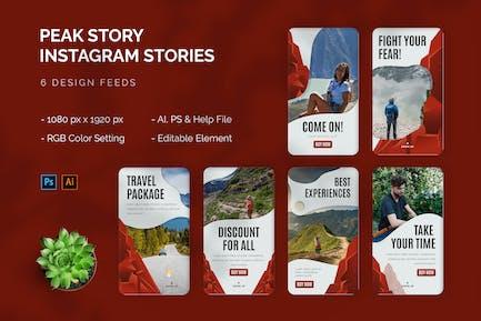 Peak Story - Instagram Story