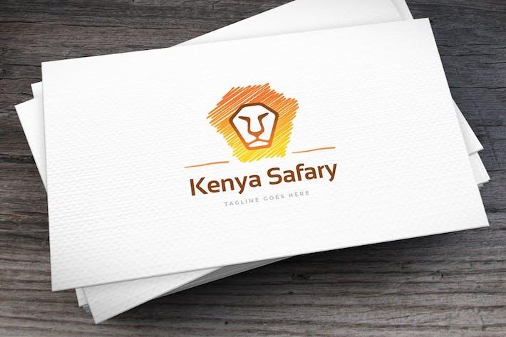 Thumbnail for Kenya Safary Logo Template