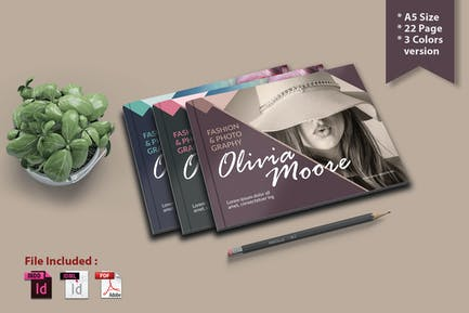A5  Fashion & Photography - Brochure Template