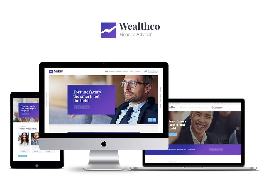 WealthCo - Business & Financial Consulting Theme