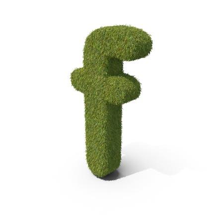 Grass Kleinbuchstabe F