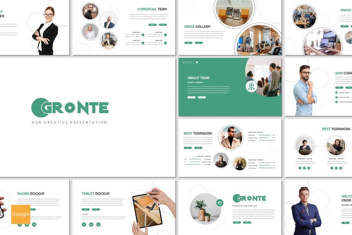 Thumbnail for Gronte - Business Google Slides Template