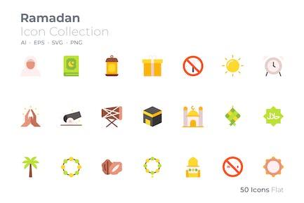 Icône couleur du Ramadan