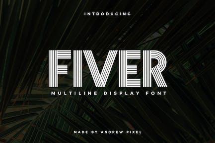 Fiver - Display Font