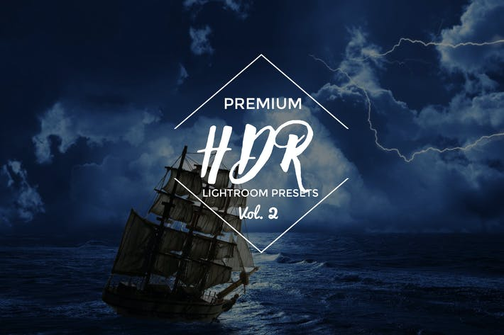 Thumbnail for HDR Lightroom Presets Vol. 2