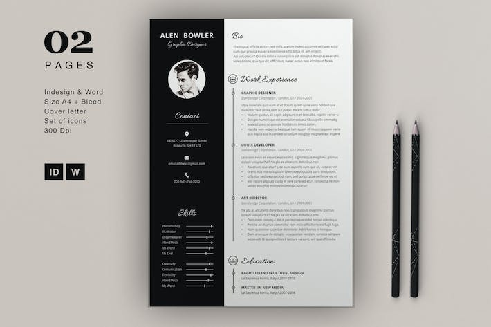Resume Alen by sz81 on Envato Elements