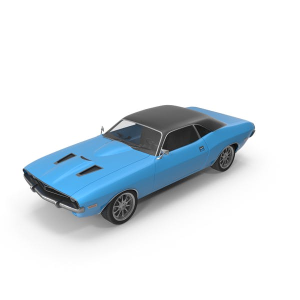 Thumbnail for Retro Car Blue