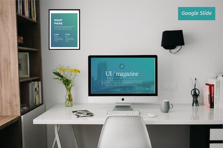 Thumbnail for Ui Magazine Business Google Slide - LS