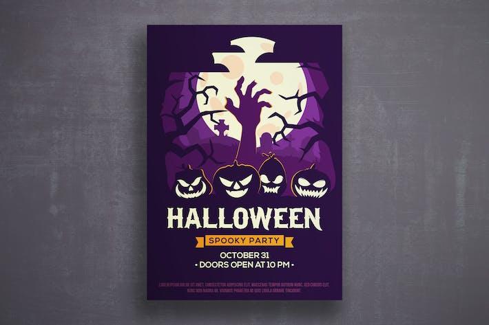 Thumbnail for Halloween-Flyer Vorlage