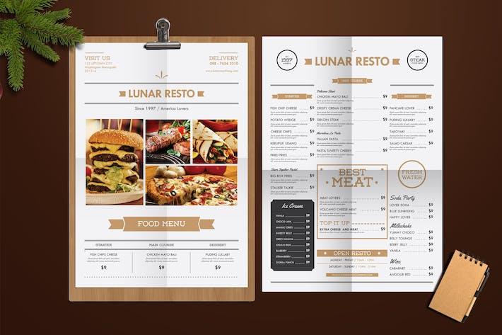 Modern food menu by tokosatsu on envato elements