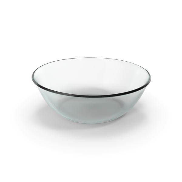 Стеклянная круглая чаша