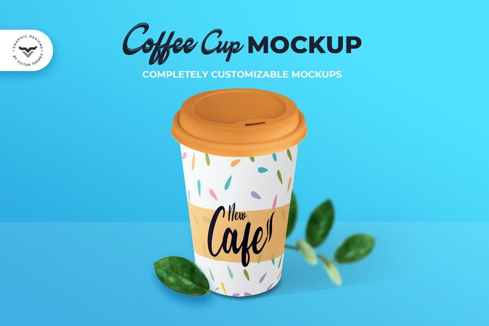 Thumbnail for Coffee Cup Mockups
