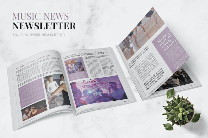 Music News Newsletter