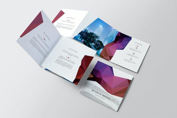 Thumbnail for Multipurpose Square Brochure 04