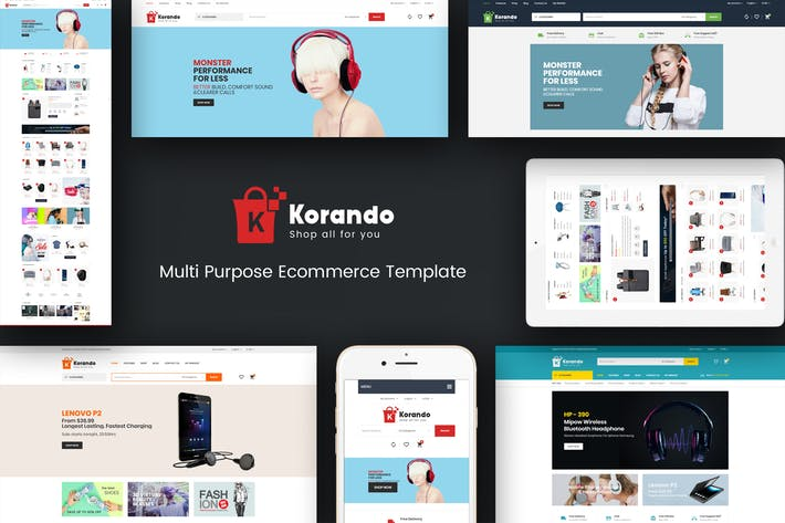 Thumbnail for Korando - Responsive Magento Theme