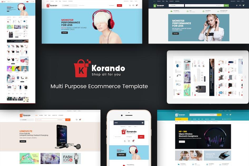 Download Korando - Responsive Magento Theme by Plaza-Themes
