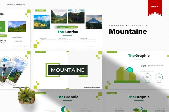Thumbnail for Mountaine | Powerpoint Template