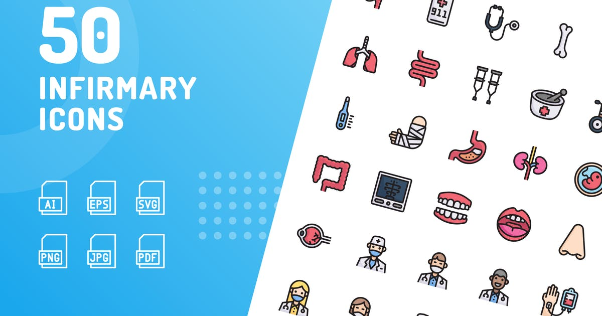 Download Infirmary Color Icons by kerismaker