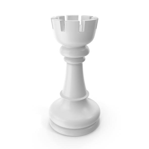 Chess Rook White