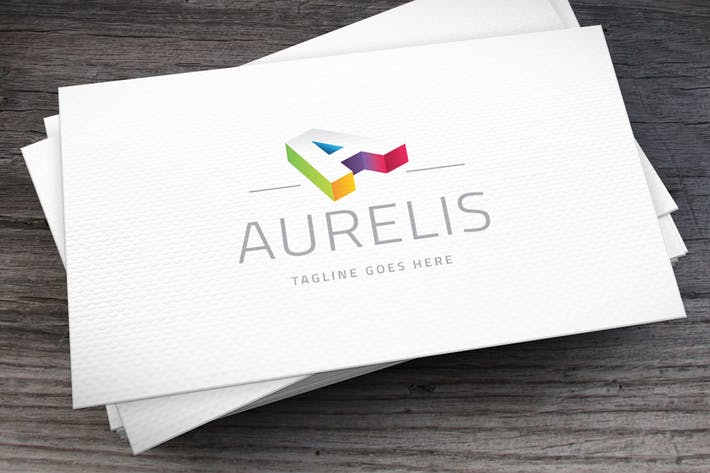 Thumbnail for Aurelis Letter A Logo Template