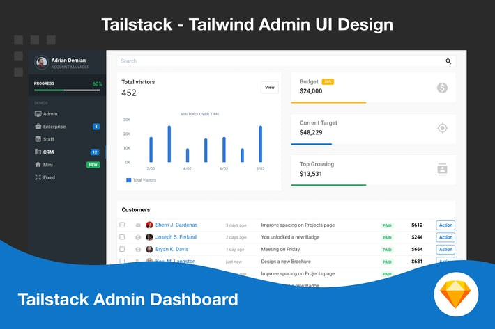 Tailwind Admin Dashboard