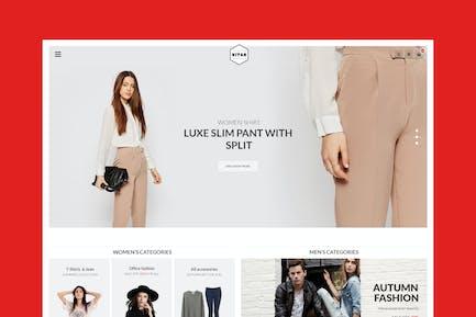 Ntan — Moda WooCommerce WordPress Tema