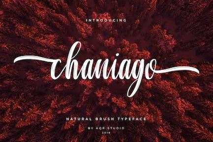 Chaniago Natural Brush Typeface