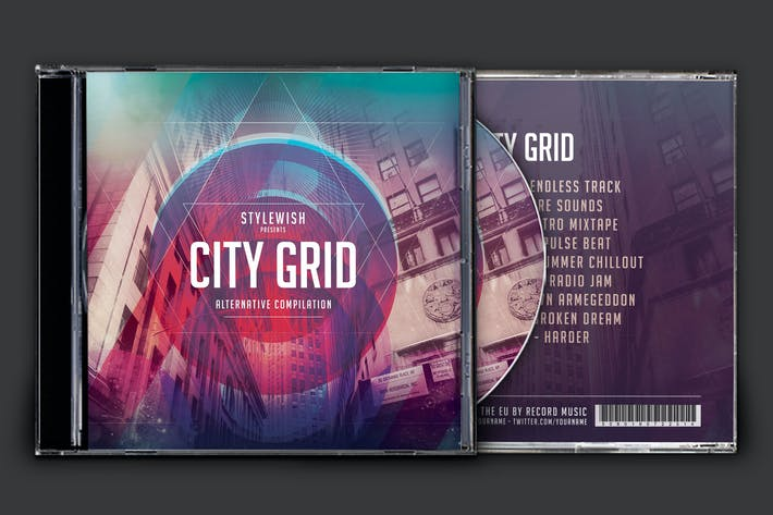 Thumbnail for City Grid CD Cover Artwork