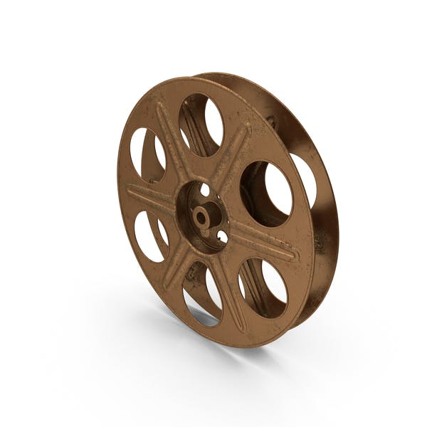 Empty Film Reel