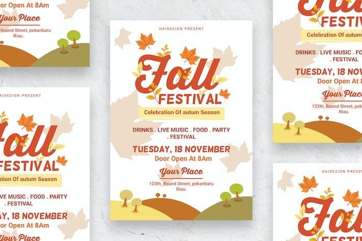 Thumbnail for Fall Festival - Poster