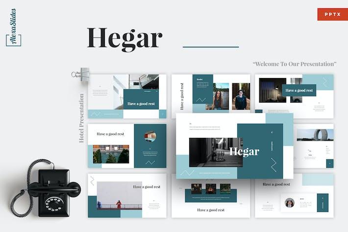 Thumbnail for Hegar - Hotel Powerpoint Template