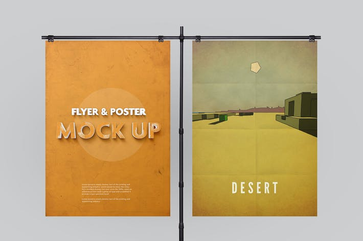Thumbnail for Poster Mockup vol.2 / 10 Different Images