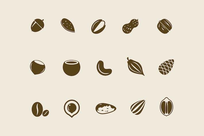 15 Icons für Mutter und Samen