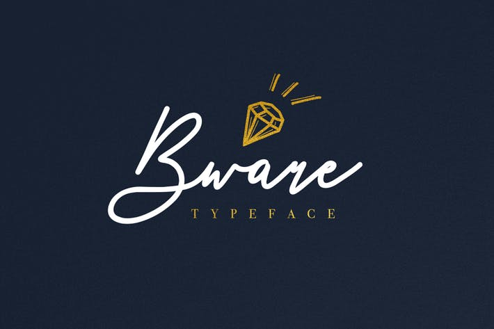 Thumbnail for Bware Typeface