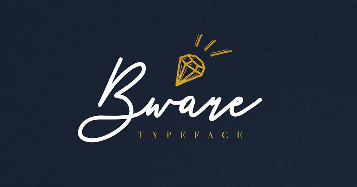 Download Bware Typeface by maulanacreative