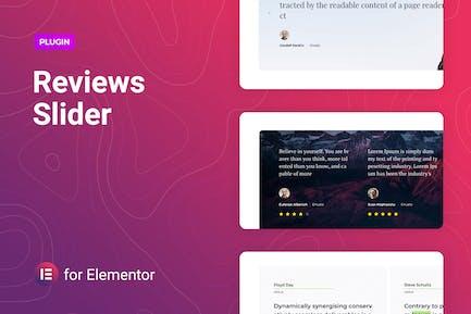 Reviews Slider for Elementor