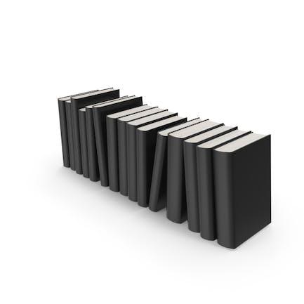 Kit de libros negros