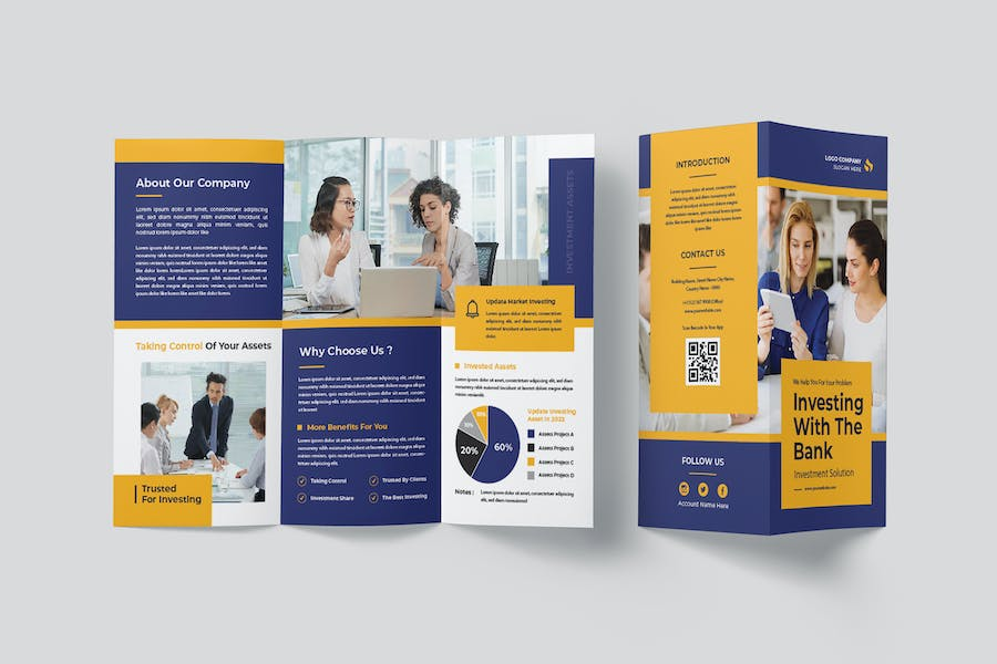 Investment Assets Trifold Brochure