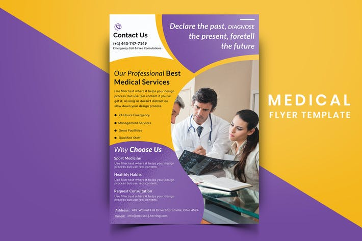 Thumbnail for Medical Flyer Template-09