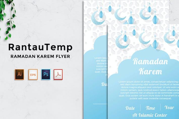 Ramadhan Flyer - Rantautemp