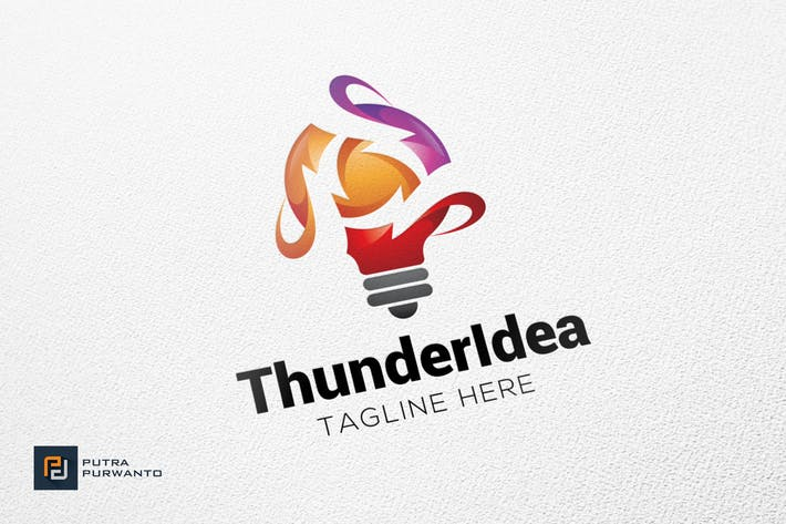 Thumbnail for Thunder Idea - Logo Template