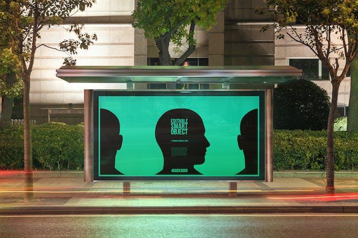 Thumbnail for Urban Poster-Billboard Maquetas - Edición Nocturna #5