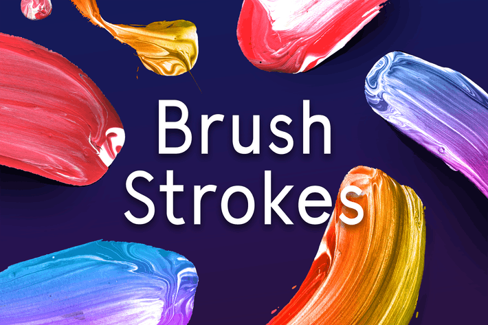 Cover Image For Paint Brush Strokes