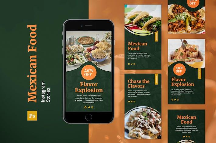 Thumbnail for Mexikanisches Essen Instagram Geschichten
