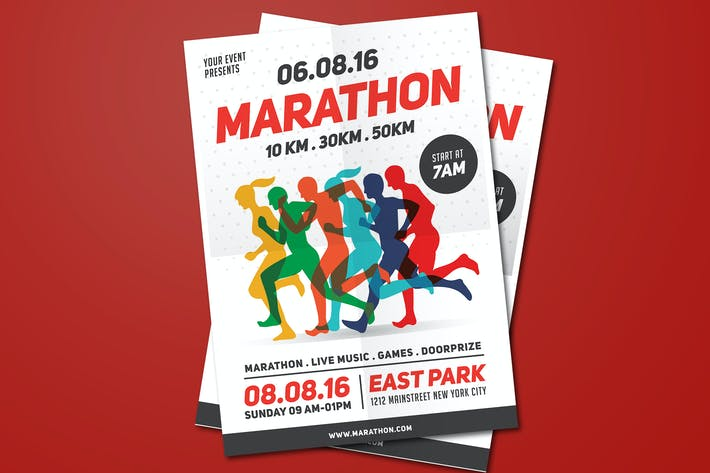 Thumbnail for Marathon Event Flyer