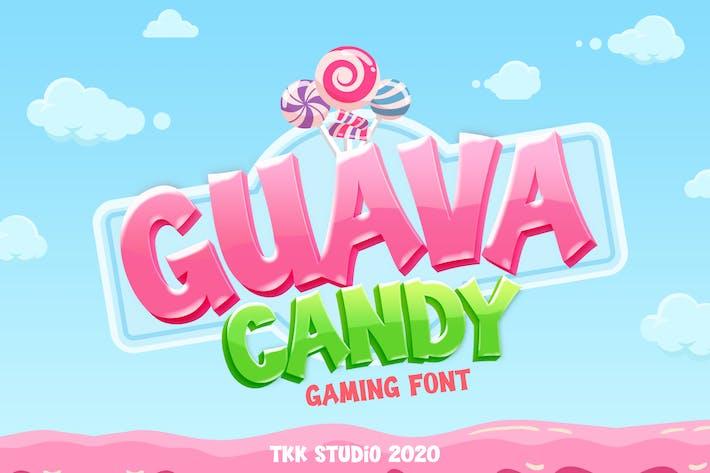 Thumbnail for Guava Candy - Fuente para juegos para niños