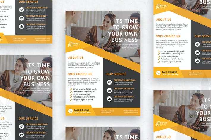 Thumbnail for Business Agency - Flyer