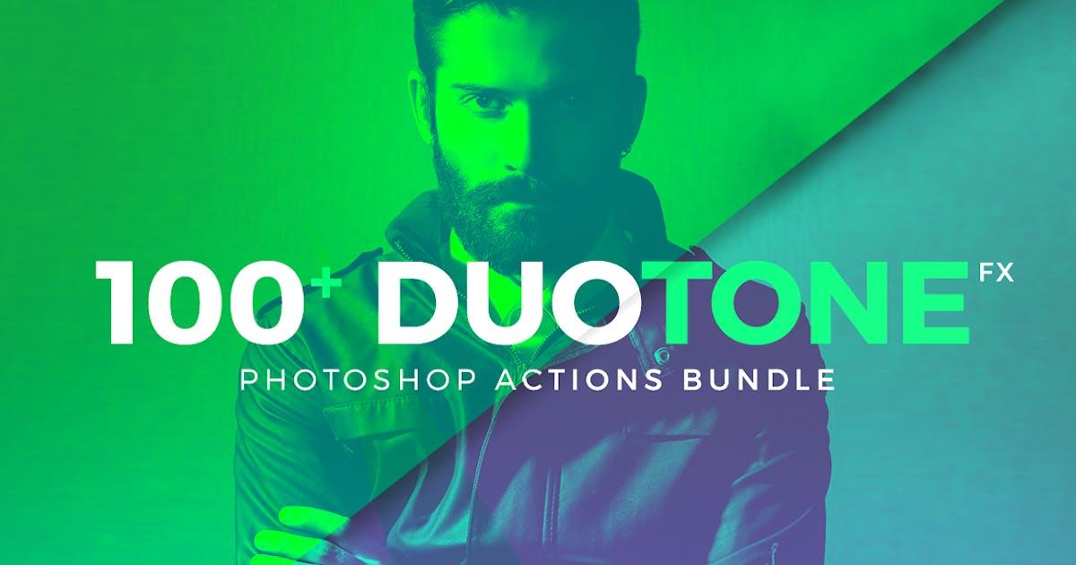 Duotone Photoshop Action Bundle by micromove