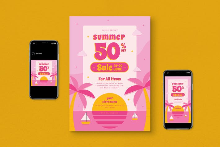 Thumbnail for Summer Sale Flyer